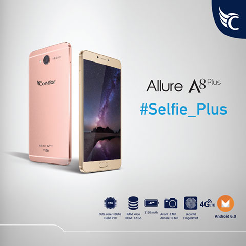firmware condor allure a8 plus